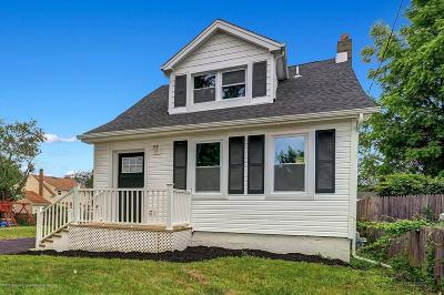 Aberdeen, Matawan Single Family Home Under Contract: 376 Gulden Street