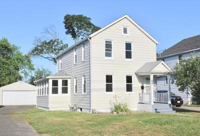 Long Branch Single Family Home For Sale: 198 Edwards Avenue
