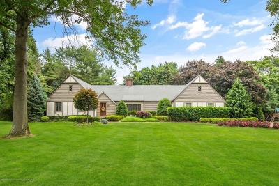 Holmdel Single Family Home For Sale: 3 Ladwood Drive