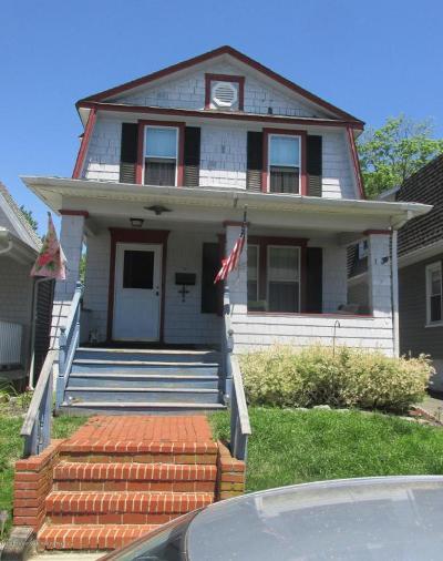Bradley Beach Single Family Home For Sale: 506 1/2 Burlington Avenue