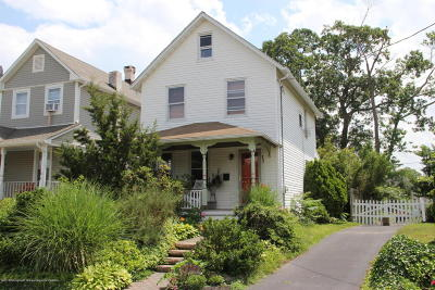 Neptune City Single Family Home Under Contract: 17 4th Avenue