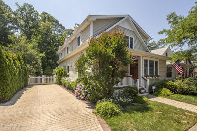 Rumson Single Family Home For Sale: 44 Allen Street