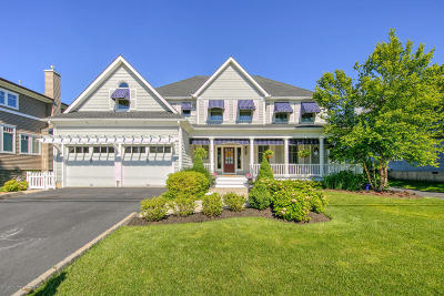 Long Branch, Monmouth Beach, Oceanport Single Family Home Under Contract: 49 Seaview Avenue