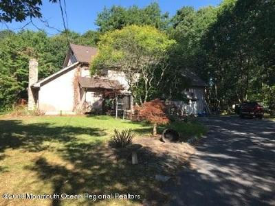 Wall Single Family Home For Sale: 1615 Woodfield Road