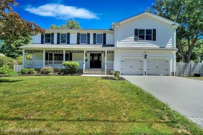 Long Branch, Monmouth Beach, Oceanport Single Family Home For Sale: 73 Algonquin Avenue