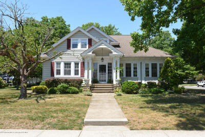 Avon-by-the-sea, Belmar, Bradley Beach, Brielle, Manasquan, Spring Lake, Spring Lake Heights Single Family Home For Sale: 133 South Street
