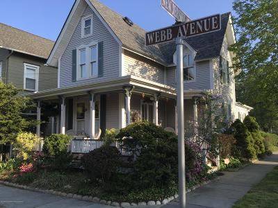 Ocean Grove Single Family Home Under Contract: 102 Webb Avenue