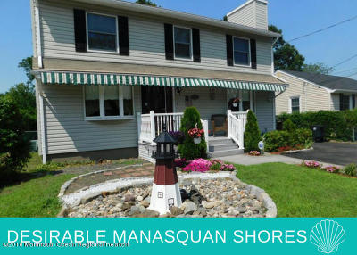 Avon-by-the-sea, Belmar, Bradley Beach, Brielle, Manasquan, Spring Lake, Spring Lake Heights Single Family Home For Sale: 1134 Oak Road