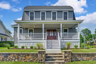 Avon-by-the-sea, Belmar, Bradley Beach, Brielle, Manasquan, Spring Lake, Spring Lake Heights Single Family Home For Sale: 300 Woodland Avenue