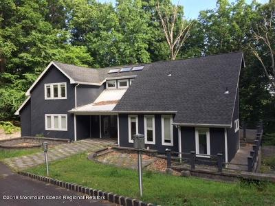 Holmdel Single Family Home For Sale: 18 Georjean Drive