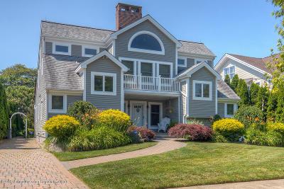 Avon-by-the-sea, Belmar, Bradley Beach, Brielle, Manasquan, Spring Lake, Spring Lake Heights Single Family Home For Sale: 205 Atlantic Avenue