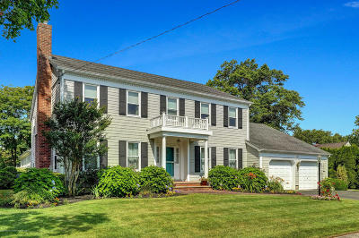 Avon-by-the-sea, Belmar, Bradley Beach, Brielle, Manasquan, Spring Lake, Spring Lake Heights Single Family Home For Sale: 1707 2nd Avenue