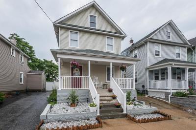 Bradley Beach Single Family Home For Sale: 602 1/2 Newark Avenue