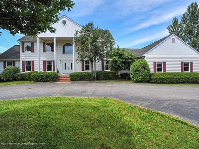 Monmouth County Farm For Sale: 12 Mine Brook Road