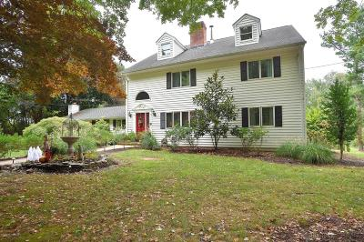 Millstone Single Family Home Under Contract: 15 Pine Hill Road