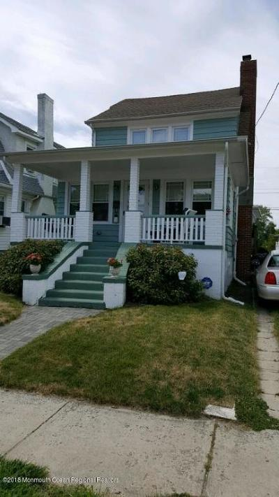 Avon-by-the-sea, Belmar, Bradley Beach, Brielle, Manasquan, Spring Lake, Spring Lake Heights Single Family Home For Sale: 511 Burlington Avenue