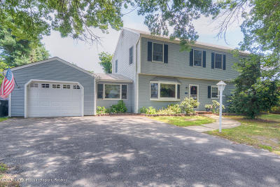 Avon-by-the-sea, Belmar Single Family Home For Sale: 1514 Rogers Road