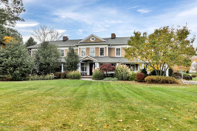 Rumson Single Family Home For Sale: 14 Hartshorne Lane