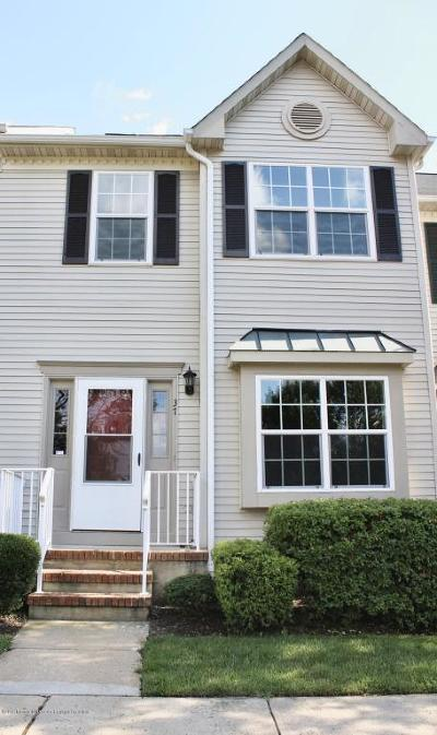 Holmdel Condo/Townhouse For Sale: 37 Azimuth Court
