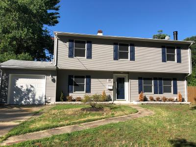 Middletown Single Family Home For Sale: 518 Belmont Drive