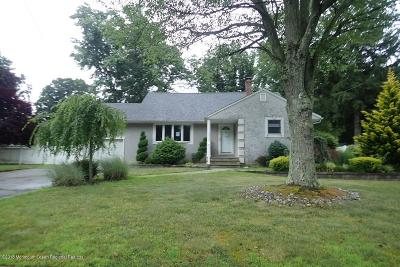 Holmdel Single Family Home Under Contract: 16 Crescent Road
