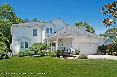 Ocean County Single Family Home For Sale: 47 Oxycocus Road