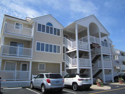 Seaside Heights Condo/Townhouse For Sale: 1501 Boulevard #29