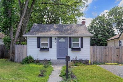 Hazlet Single Family Home Under Contract: 16 Franklin Avenue