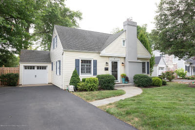 Little Silver Single Family Home For Sale: 57 N Sunnycrest Drive