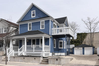 Bradley Beach Single Family Home For Sale: 610 Newark Avenue
