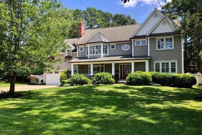 Brielle Single Family Home For Sale: 1004 Cedar Lane