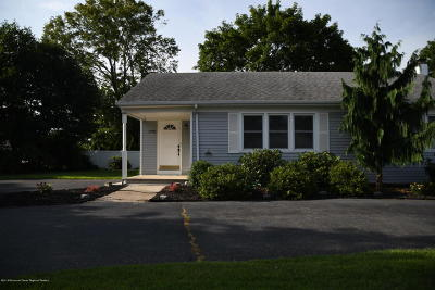 Wall Single Family Home Under Contract: 1791 Belmar Boulevard