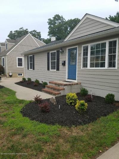 Red Bank Single Family Home For Sale: 47 Chapin Avenue