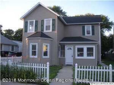 Long Branch Single Family Home For Sale: 283 Jeffrey Street