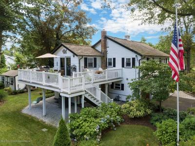 Brielle Single Family Home Under Contract: 606 Center Street