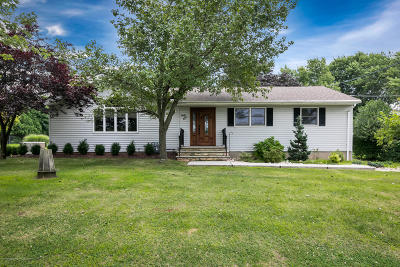 Millstone Single Family Home Under Contract: 84 Stillhouse Road