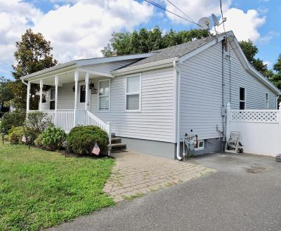 Neptune Township NJ Single Family Home Under Contract: $299,000