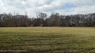 Freehold Residential Lots & Land For Sale: Adelphia-Farmingdale Road