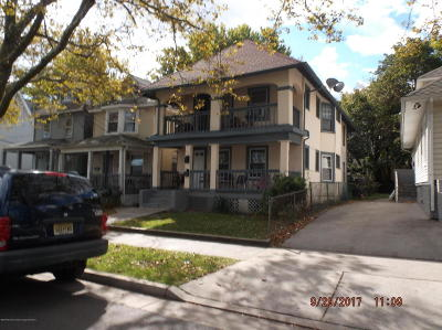 Asbury Park Multi Family Home For Sale: 920 Monroe Avenue