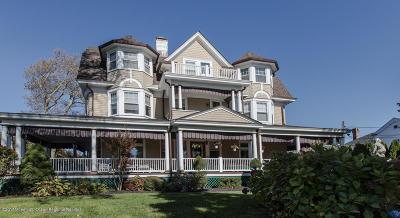Long Branch, Monmouth Beach, Oceanport Single Family Home For Sale: 109 Park Avenue