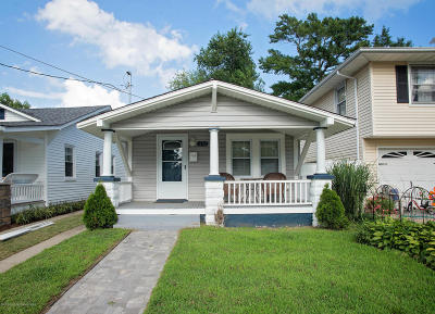 Belmar Single Family Home Under Contract: 1253 Maplewood Road