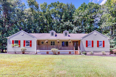 Wall Single Family Home For Sale: 2113 Allenwood Road