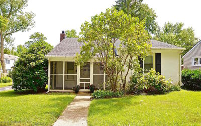 Spring Lake Single Family Home Under Contract: 1221 Holly Place