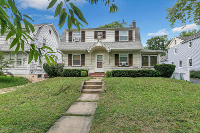 Red Bank Single Family Home For Sale: 40 E Bergen Place