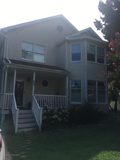 Avon-by-the-sea, Belmar, Bradley Beach, Brielle, Manasquan, Spring Lake, Spring Lake Heights Single Family Home For Sale: 607 Woodland Avenue