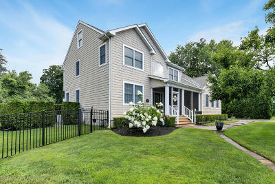 Long Branch, Monmouth Beach, Oceanport Single Family Home Under Contract: 34 Doreen Drive