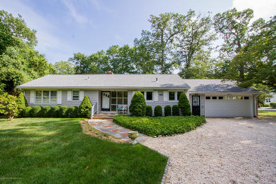Monmouth County Single Family Home For Sale: 63 Rumson Road