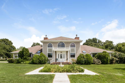 Single Family Home For Sale: 1693 Old Freehold Road