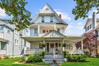Avon-by-the-sea, Belmar, Bradley Beach, Brielle, Manasquan, Spring Lake, Spring Lake Heights Single Family Home For Sale: 114 Woodland Avenue