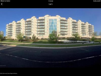 Long Branch Condo/Townhouse For Sale: 432 Ocean Boulevard #502